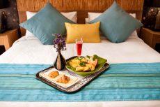 Room service chambre Calypso tamatave