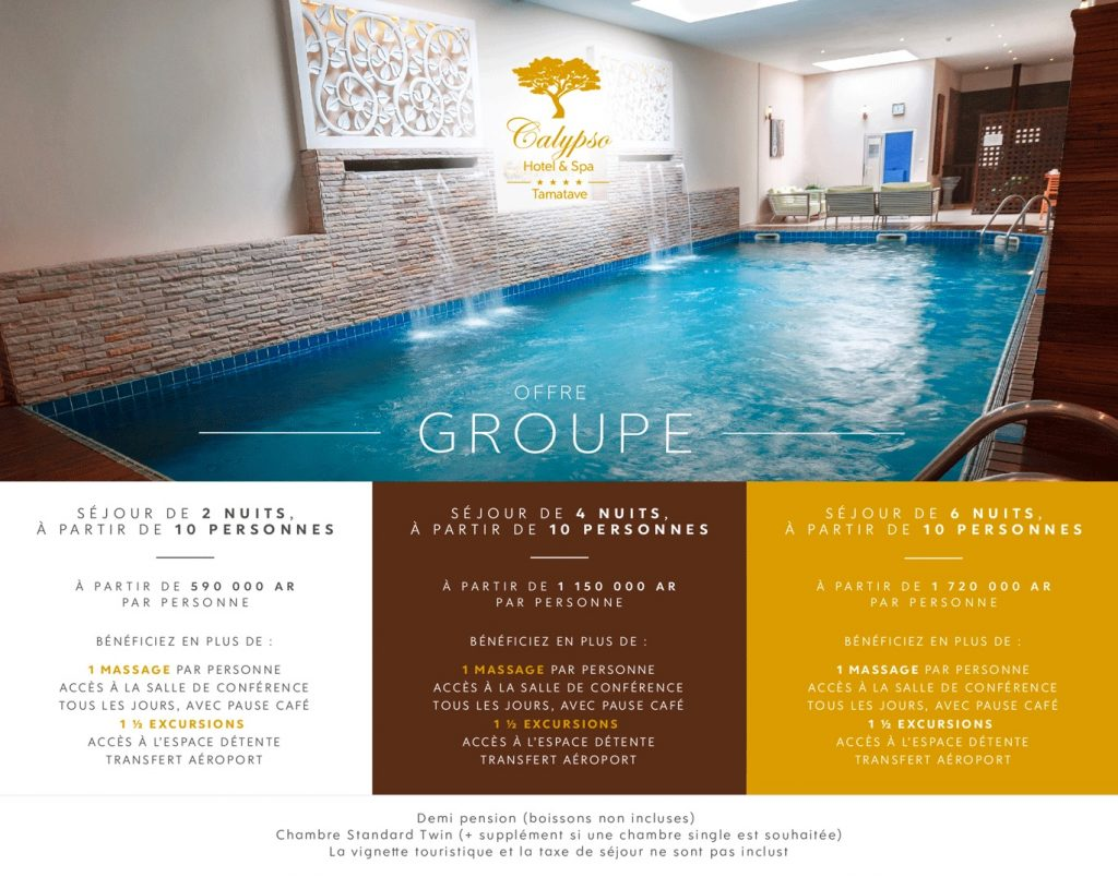 Package groupe Calypso